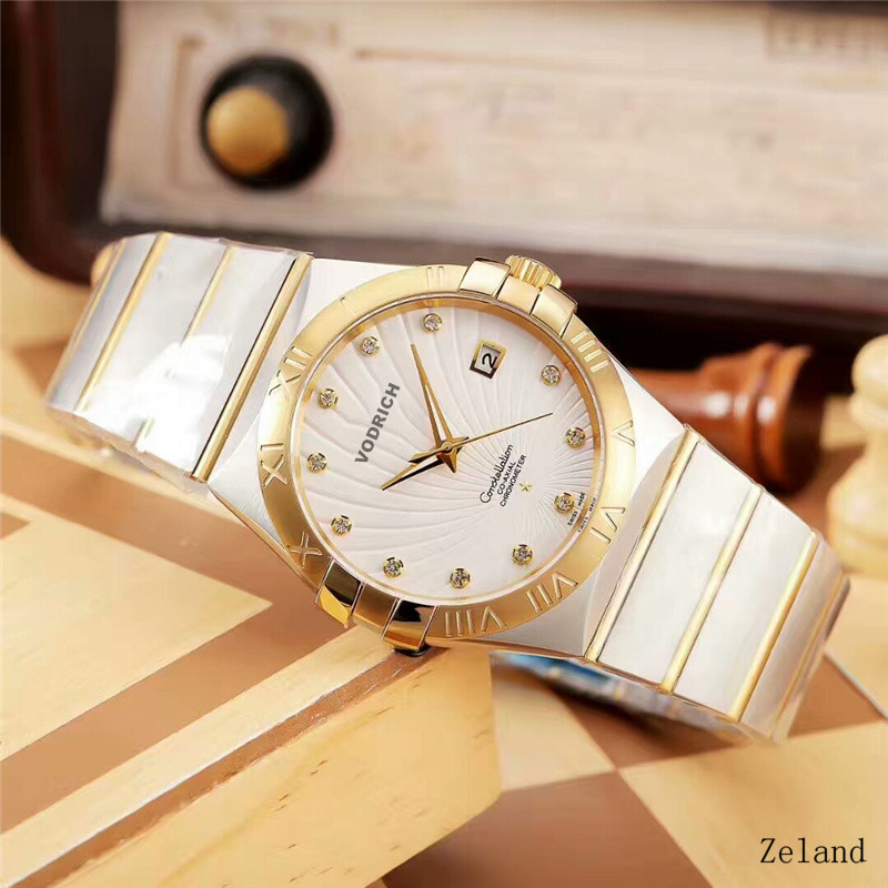 Aaa Quality Well-known Men's Fashion Brand, High-quality High-quality Automatic Mechanical Watch, Stainless Steel Strap.