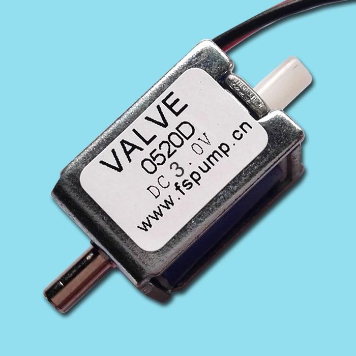 Solenoid Valve 3V 4.5V Miniature Solenoid Valve Air Valve Normally Closed Solenoid Valve Vent Valve