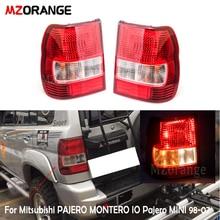 Tail Light For Mitsubishi PAJERO MONTERO IO Pajero MINI 1998 2007 Rear Tail Brake Stop Lamp Taillights Fog Lamp Car Styling