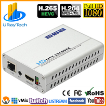HEVC H.265 H.264 HDMI + CVBS AV RCA streamingu Video enkodera enkoder iptv HD + SD wideo transmisji na żywo enkodera z pal ntsc