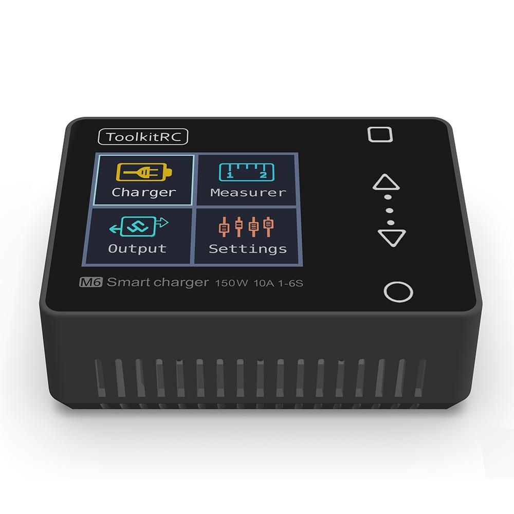 3 Tipos de bater/ía RC Lipo Cargador equilibrado Digital Accesorio de Control Remoto con Cables Enchufe T Victool Cargador equilibrado RC