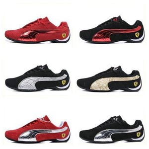 2020 Pumax Men Lace-up Ferrarimotorcycle Future Cat 5 Racing Series Casual Shoes Leather Men's Sneakers Outdoor Sport Shoes A26