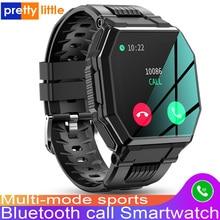 S 9 Bluetooth Anruf Smart Uhr Männer Voller Touch Sport Fitness Tracker 2020 Neue Smartwatch Blutdruck Herz Rate Musik Steuerung
