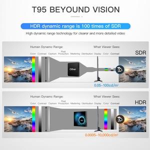 Image 5 - Caixa de tv 6k sem fio t95 h616, android 10.0, 2.4g 4gb 64gb, youtube quad core 1080p h.265 conjunto de media player caixa superior