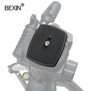 Image 5 - Dslr Camera Plastic Adapter Mount Camera Tripod Head Quick Release Plate Camera Base Plate For Three dimensional Tripod Head