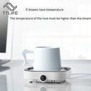Image 5 - TTLIFE New USB Heater Constant Temperature Heating Coaster Electric Tea Machine Desktop Hot Milk Machine Baby Bottle Warm Milk