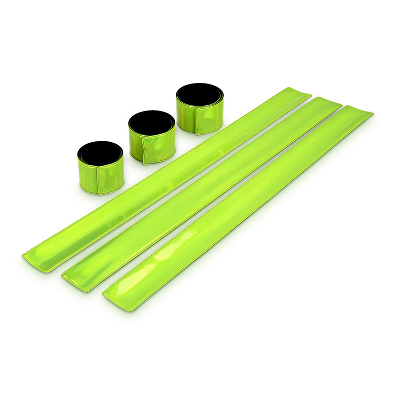 Reflective Snap Wrist & Ankle Pop Bands Perfect For Walking, Biking, Pets, And Children For Night Safety 6PCS