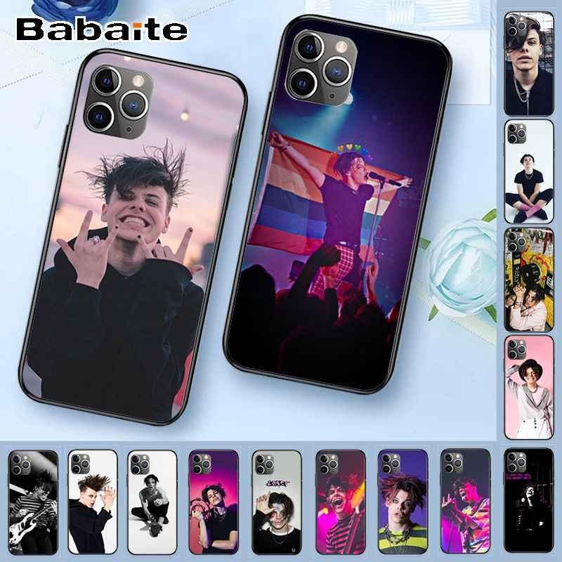 Cover Voor Iphone 11 Yungblud Diy Geschilderd Telefoon Accessoires Case Voor Iphone X Xs Max 5 6S Se 7 8 Plus Xr 11pro Mobiele Gevallen