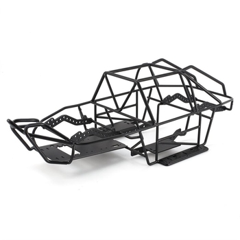 Metal Chassis Metal Body Cage Full Tube Frame for 1/10 RC Tracked Vehicle Axial SCX10 II 90046 90047 Upgraded Parts