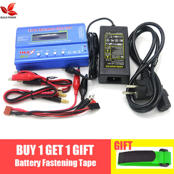 IMAX B6 80W Battery Charger Lipo NiMh Li-ion Ni-Cd Digital RC IMAX B6 Lipro Balance Charger Discharger + AC POWER 12V 5A Adapter