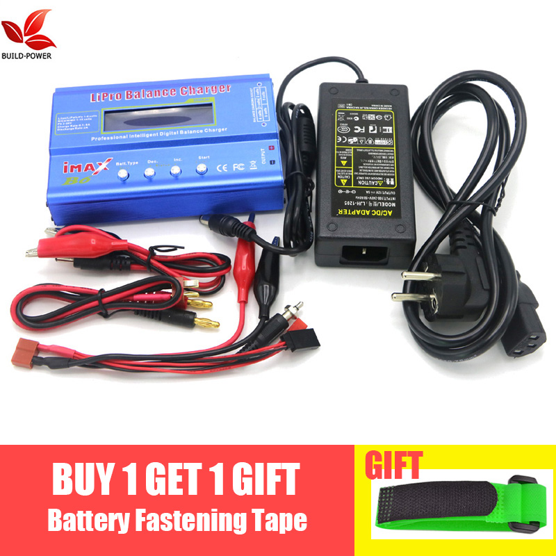 Купить со скидкой IMAX B6 Digital RC Lipo NiMh Battery Balance Charger+AC POWER 12v 5A Adapter Drop free shipping