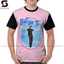 Футболка для старшей школы, футболка с надписью «Bet On It Troy Bolton Zac», летняя футболка из полиэстера, футболка с графическим рисунком