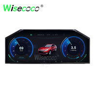 12.3 inch 1920x720 IPS screen display 780 nits with 20 pins lvds interface for dashboard car automotive display