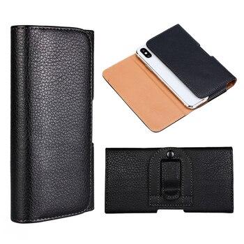 Перейти на Алиэкспресс и купить Зажим для ремня чехол для телефона для Ulefone T2 2019 Броня 6S 6 7 6E 3 3T из искусственной кожи чехол-книжка чехол для Ulefone Броня X2 3W 3W T Coque