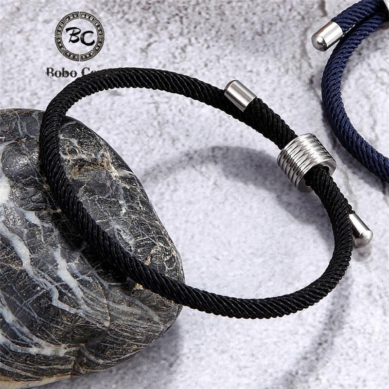 Wholesale Color Milan Rope Chain Survival Bracelets Men Women Lucky Couple Bracelet homme femme Anklet Girl Jewelry water Sporty