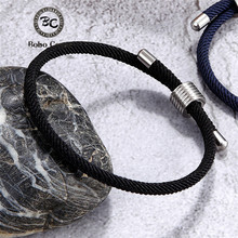 Wholesale Color Milan Rope Chain Survival Bracelets Men Women Lucky Couple Bracelet homme femme Anklet Girl Jewelry water Sporty
