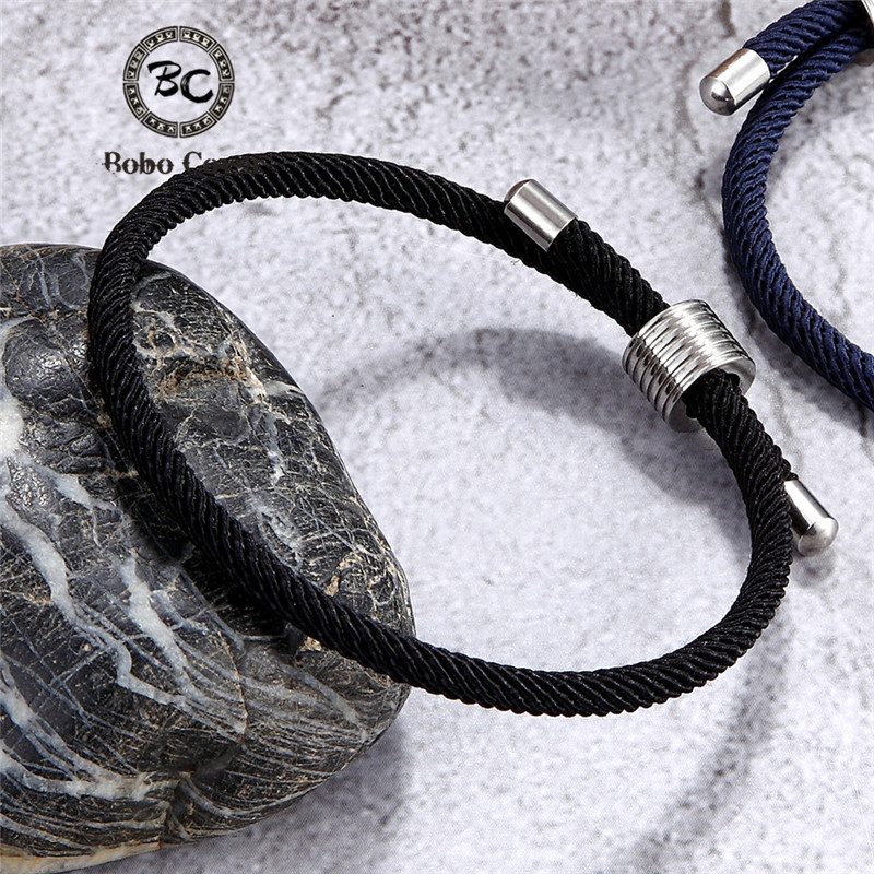 Wholesale Color Milan Rope Chain Survival Bracelets Men Women Lucky Couple Bracelet homme femme Anklet Girl Jewelry water Sporty(China)