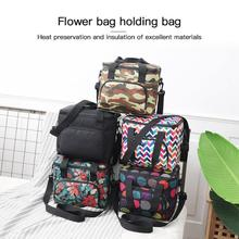 1PC Waterproof Insulation Cooler Bag Cool Pack Box Picnic Camping Insulation Bag Student Lunch Box Insulation Bag Drink