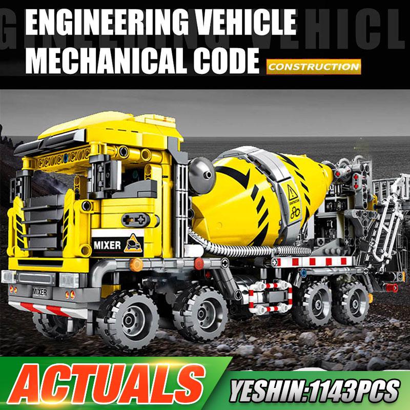 Yeshin 703941 The Mixer Truck Model