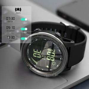 Image 4 - Lokmat bluetooth smartwatch esportes pedômetro 5atm à prova dreal água tempo real relógio digital relógio inteligente masculino para ios & android
