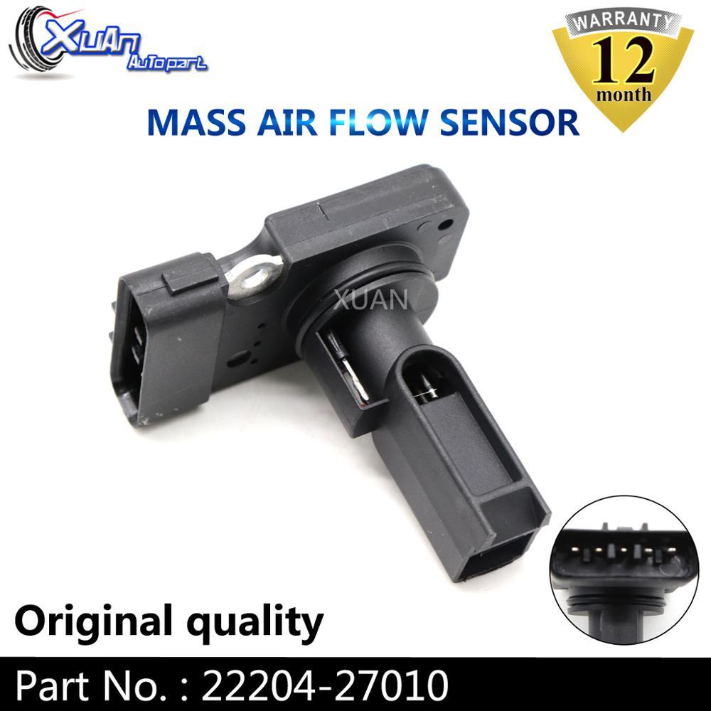 סואן MAF MASS AIR FLOW METER חיישן 22204-27010 עבור טויוטה קורולה AVENSIS PREVIA RAV 4 לנד קרוזר 2.0 d-4D AFH70M-23