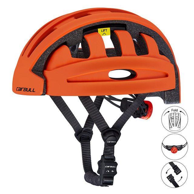 Outdoor Sports Folding Cycling Helmet Men Women Bicycle Helmet with Taillight Ultralight  Mountain Road Bike Riding Helmets|Bicycle Helmet| |  - title=