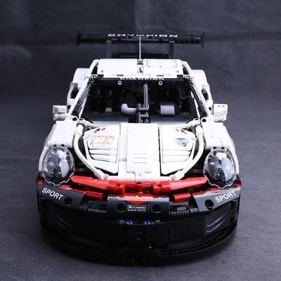 New Lepinblocks 20097 Super Car 1580pcs Model Compatible Technic Voiture 42096 Building Bricks Toy