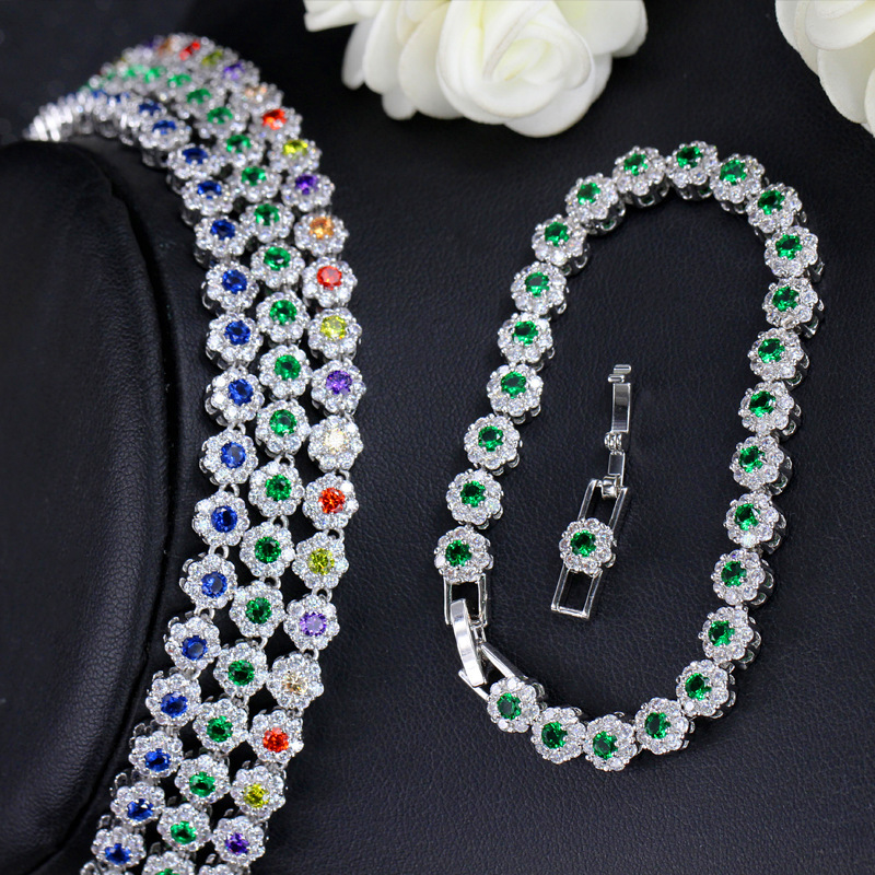 esmeralda safira pedra preciosa colar brincos pulseira