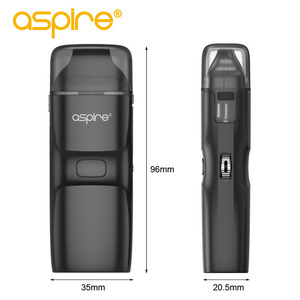 Image 3 - מתנה Aspire רוח NXT Vape ערכת 5.4ml Pod טנק מרסס 0.8ohm רשת סליל מובנה 1000mah סוללה Vaper אלקטרוני סיגריות ערכה