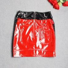 YR!. sales. модные мягкие юбки из овечьей кожи. Женские тонкие короткие юбки из натуральной кожи. Брендовая Уличная Сексуальная женская юбка