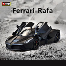 Bburago 1:18 Ferrari car alloy model simulation decoration collection gift toy Die casting boy