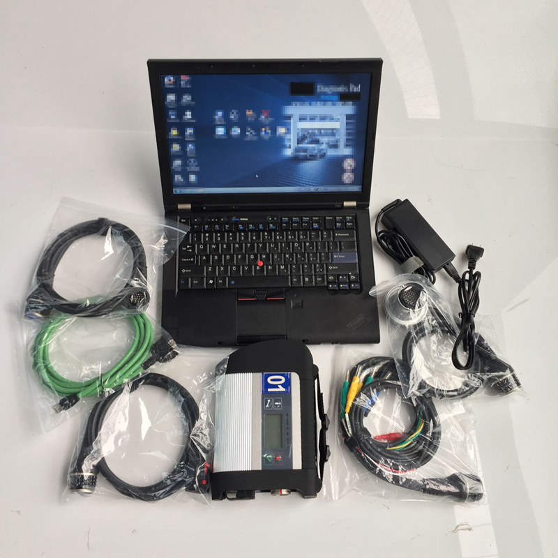 star diagnosis sd compact connect 4 mb c4 with software v2019.12 hdd 320gb with laptop t410 i5 4g ready to use