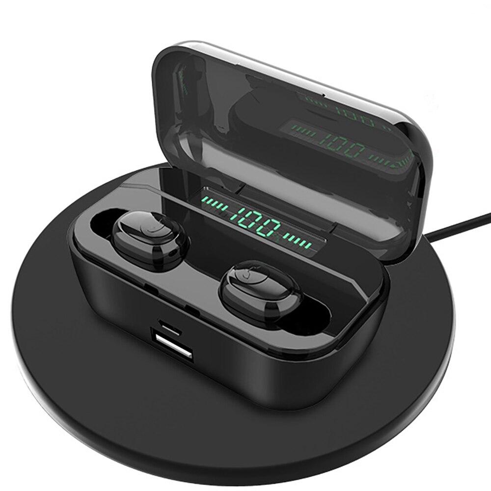 Гарнитура Bluetooth наушники Handfree TWS Беспроводные наушники с микрофоном игровые аксессуары светодиодный дисплей телефоны музыкальные спортивн...