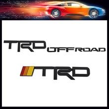 Sticker Emblem-Badge Fender-Trunk TRD Off-Road 4RUNNER Tacoma Tundra Decal RAV4 Rear