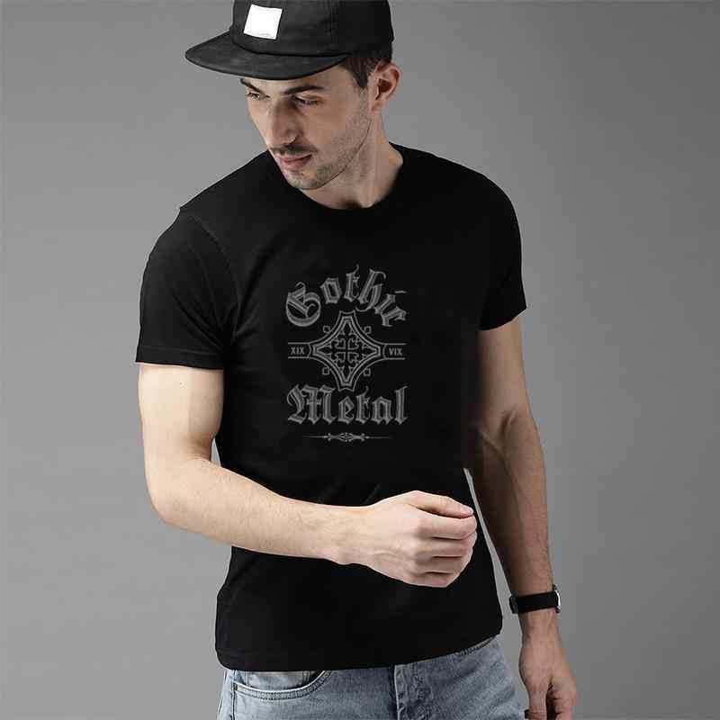 Fitness Gothic Metal t shirt for men and women Original Modal Unisex men and women t shirt tee