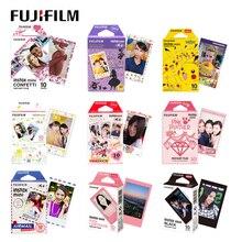 Original Fujifilm Fuji Instax Mini 11 9 Streifen Film 10 Blätter Für 70 50s 7s 11 90 25 teilen Instant Kameras Regenbogen Macaron Comic