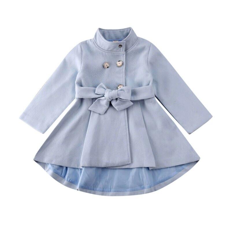 Kid Baby Girl Coat Jacket Windbreaker Outwear Overcoat Raincoat Snowsuit Warm