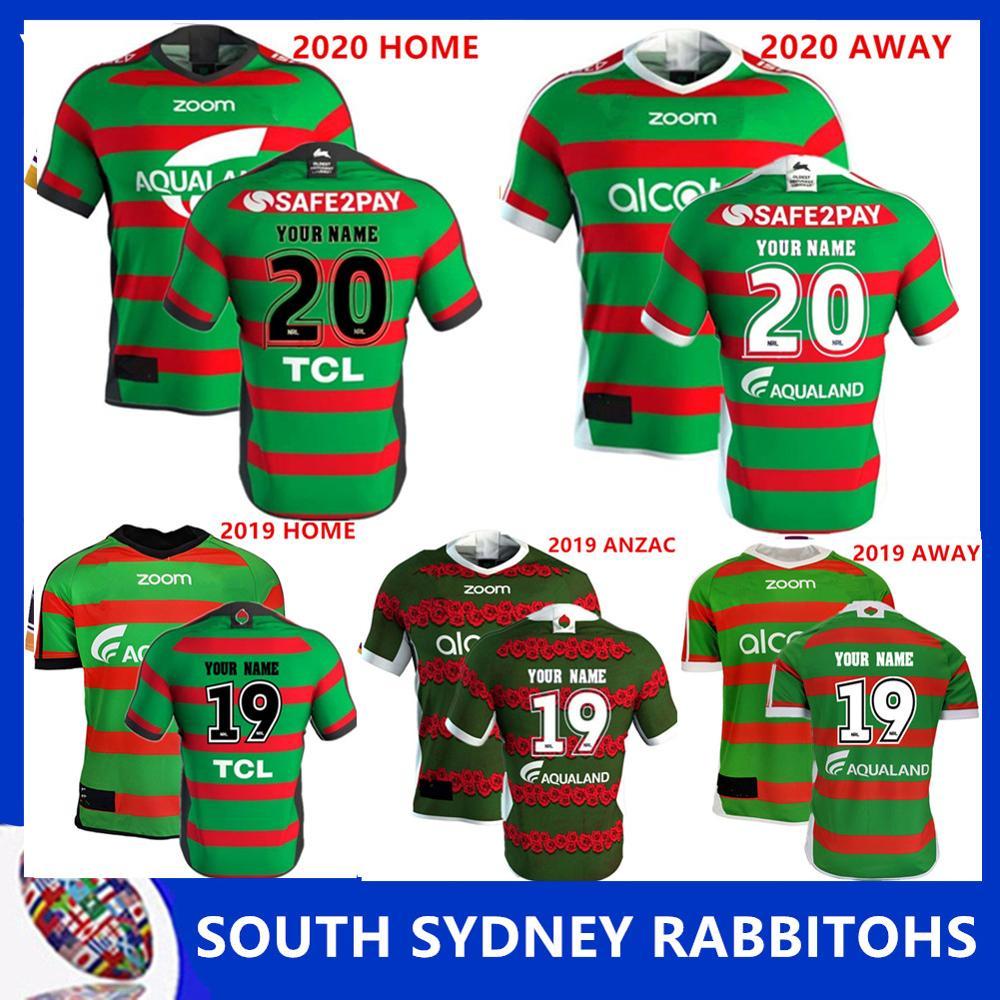 South Sydney Rabbitohs 2020 Home Jersey Size S M L Xl Xxl 3xl 4xl 5xl Aliexpress