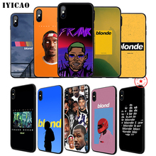 IYICAO Frank Ocean Blonde Soft Phone Case for iPhone 11 Pro XR X XS Max 6 6S 7 8 Plus 5 5S SE Silicone TPU