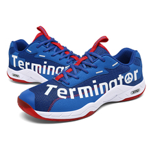 Badminton-Shoes Sneakers Training NEW Pscownlg Men Professional for Women Anti-Slippery