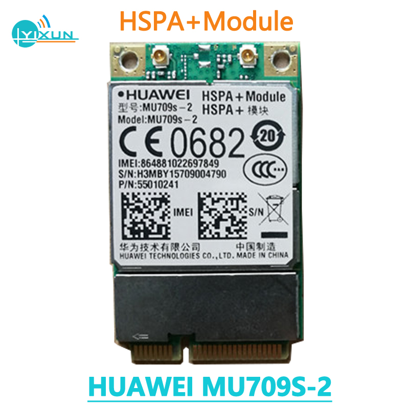 Huawei MU709S-2 HSPA+ Mini PCIe Module With Hisilicon Chip 3G WCDMA UMTS Wireless Module 900/2100MHz Brand New Original