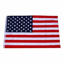 Promotion American flag USA - 150 × 90cm (100% image-compliant) promotion 7pcs embroidery 100