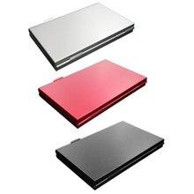 נייד באיכות גבוהה אלומיניום מיקרו עבור מיקרו SD TF כרטיס 24 חריצי זיכרון כרטיס אחסון מקרה מגן בעל כרטיס אביזרים