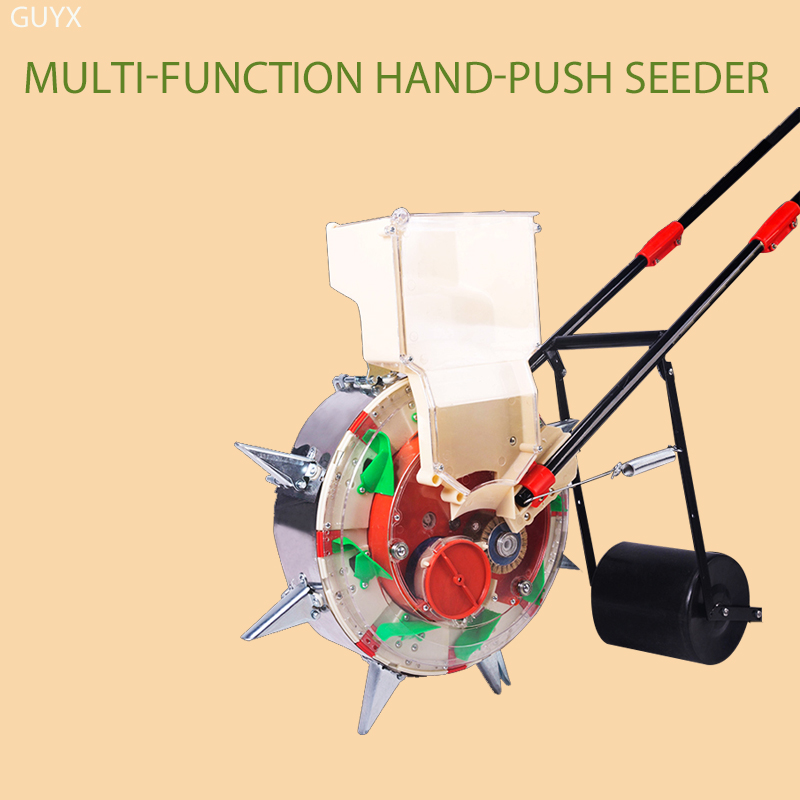 New Push Corn Cotton Soybean Peanut Precision Machine Wheat Seeder Hand Push Wheat Seeder