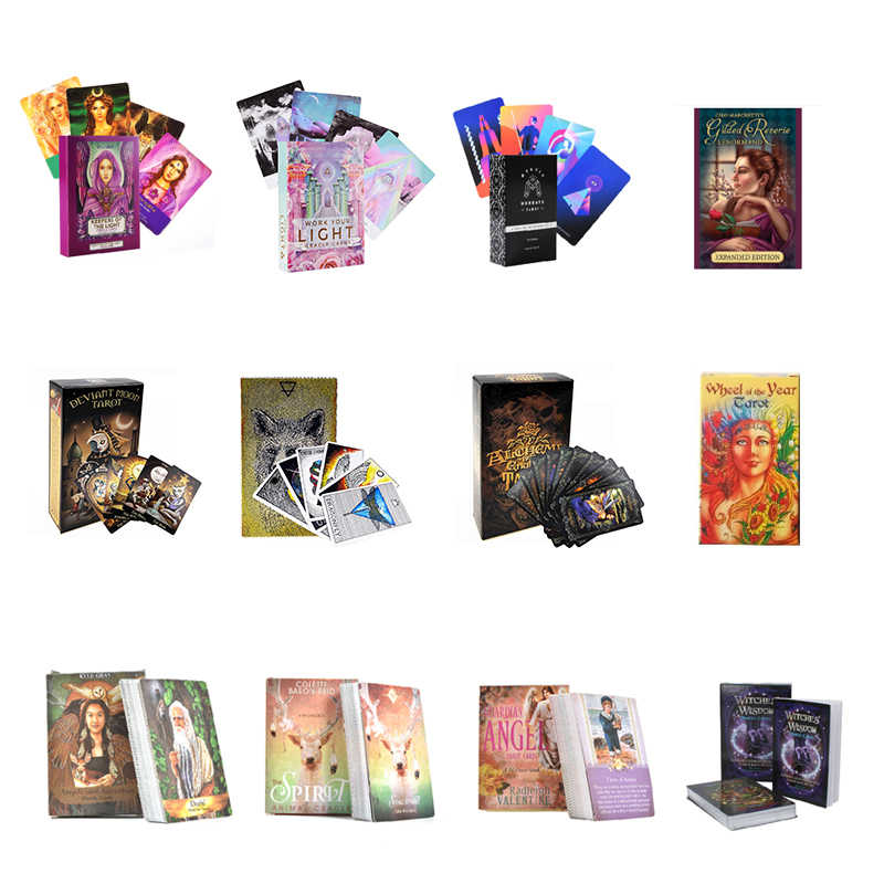 Tarot Cards Oracle Guidance Divination Fate Tarot Deck Board Games English For Family Gift Party Playing Card Game Entertainment