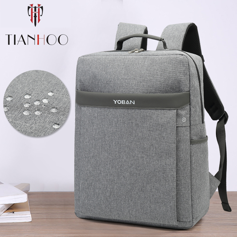 tianhoo-high-quality-men-backpacks-casual-business-waterproof-travel-slim-15-6-inch-laptop-backpack