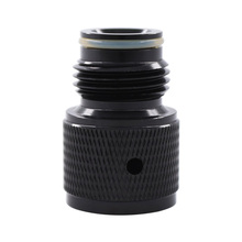 88G 90G 3oz Airsource Prefilled Co2 Cartridge Cylinder to Paintball Tank Thread Adapter Converts
