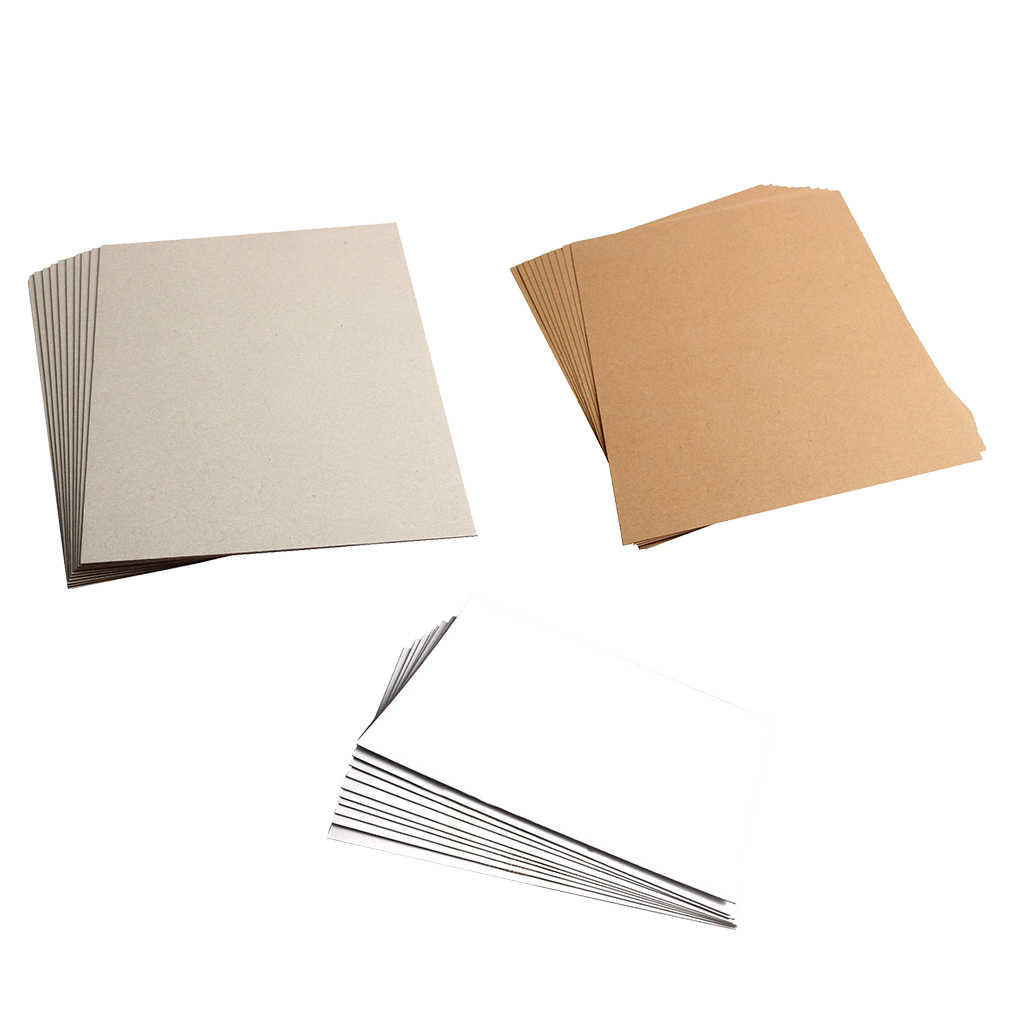 A4 Kraft Trống Giấy Mờ Cardstock Giấy Tờ Bìa Cứng Cho Thủ Công Cardmaking