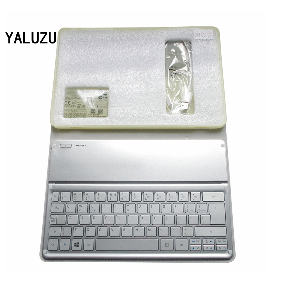 YALUZU NEW For Acer W700 W701 P3-171 P3-131 KT-1252 Keyboard Silver US Layout Wi-Fi Bluetooth Keyboard 11' Inch