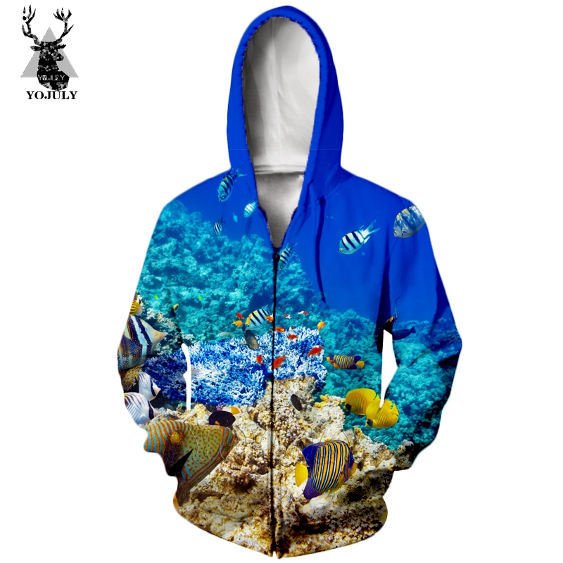 Hot Sale Marine Life Fish T Shirt Fashion Men's Sets 3D Animal Funny T-Shirts/hoodie/Sweatshirt Hip Hop O-neck Streetwear Tops 8